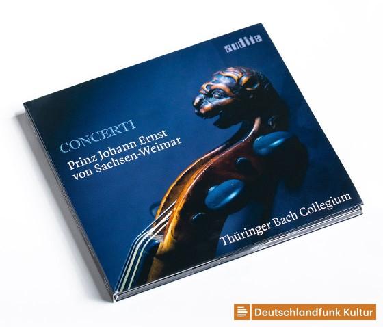 CD: »Concerti– Prinz Johann Ernst von Sachsen-Weimar«